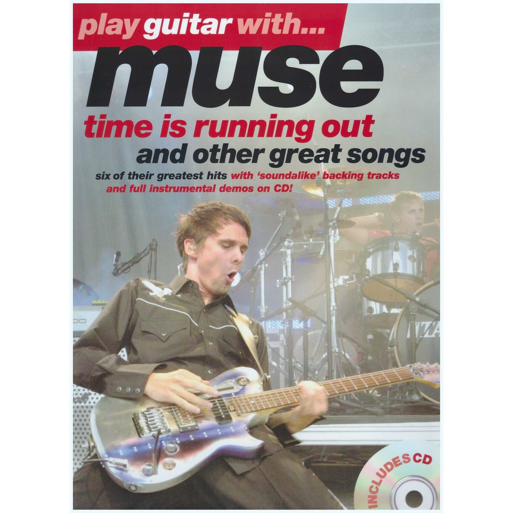 Play Guitar With... Muse / Vocal Book / Voice Book / Guitar Book