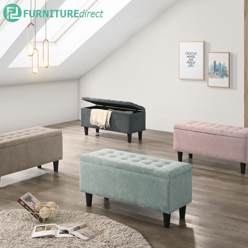 Mamba fabric Storage Bench Chair/ bench stool/ bench sofa/ bench gym