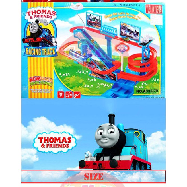 THOMAS TRAIN ELECTRONIC AUTOMATIC TRACK KIDS PRETEND PLAY