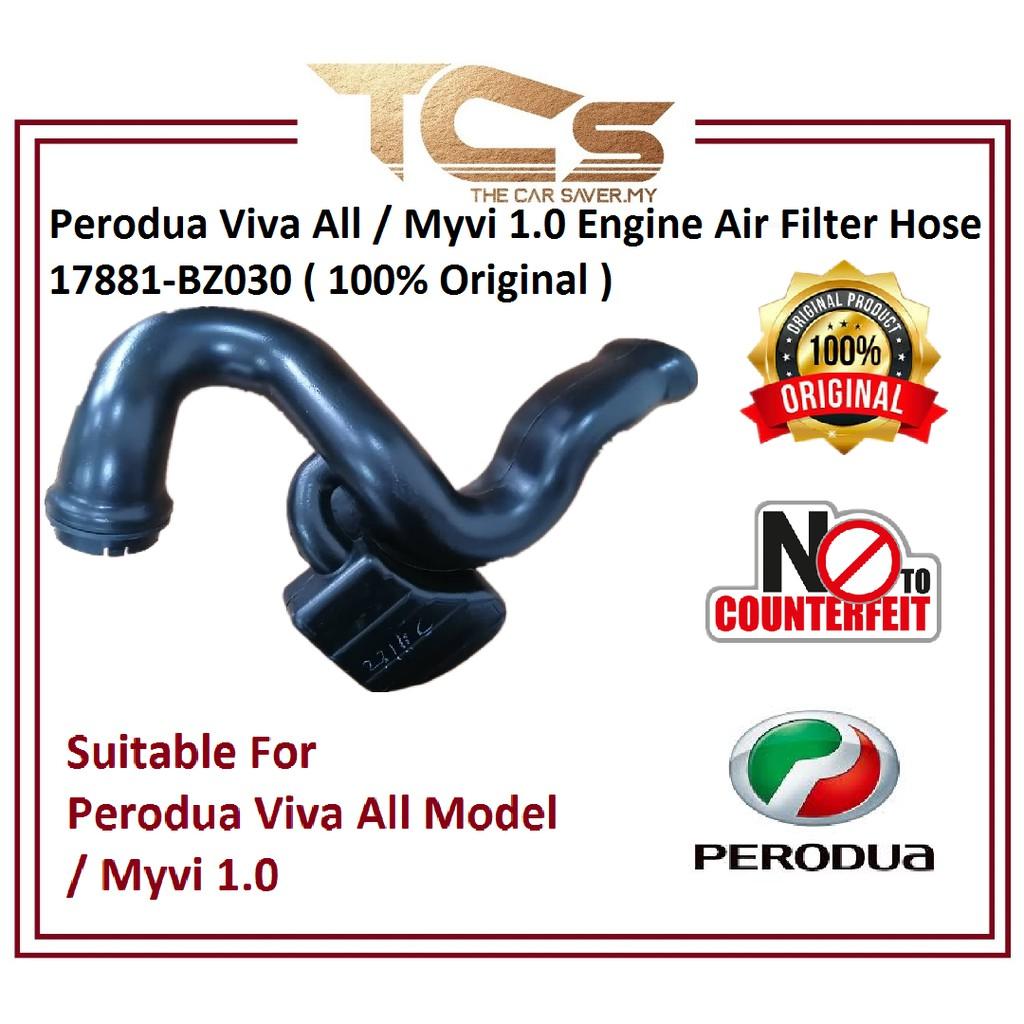 Perodua Viva All / Myvi 1.0 Engine Air Filter Hose 17881-BZ030 ( 100% Original )