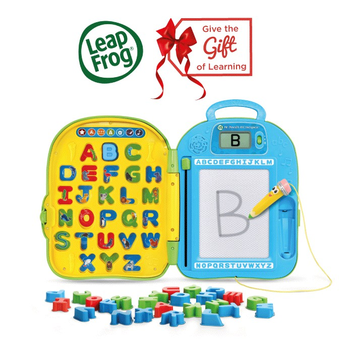 LeapFrog Mr Pencil's ABC Backpack