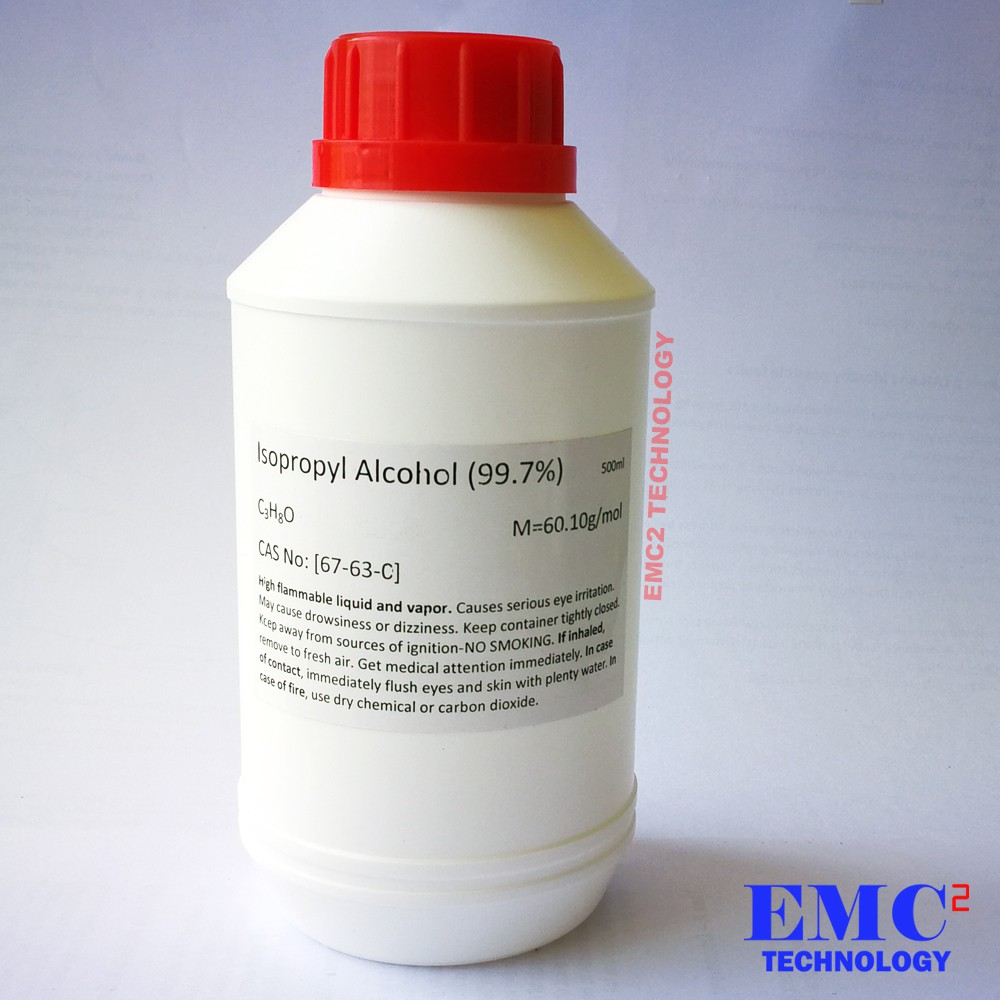 PC & Electronic Parts Cleaner / Isopropyl Alcohol (IPA) 99 7% 500ml