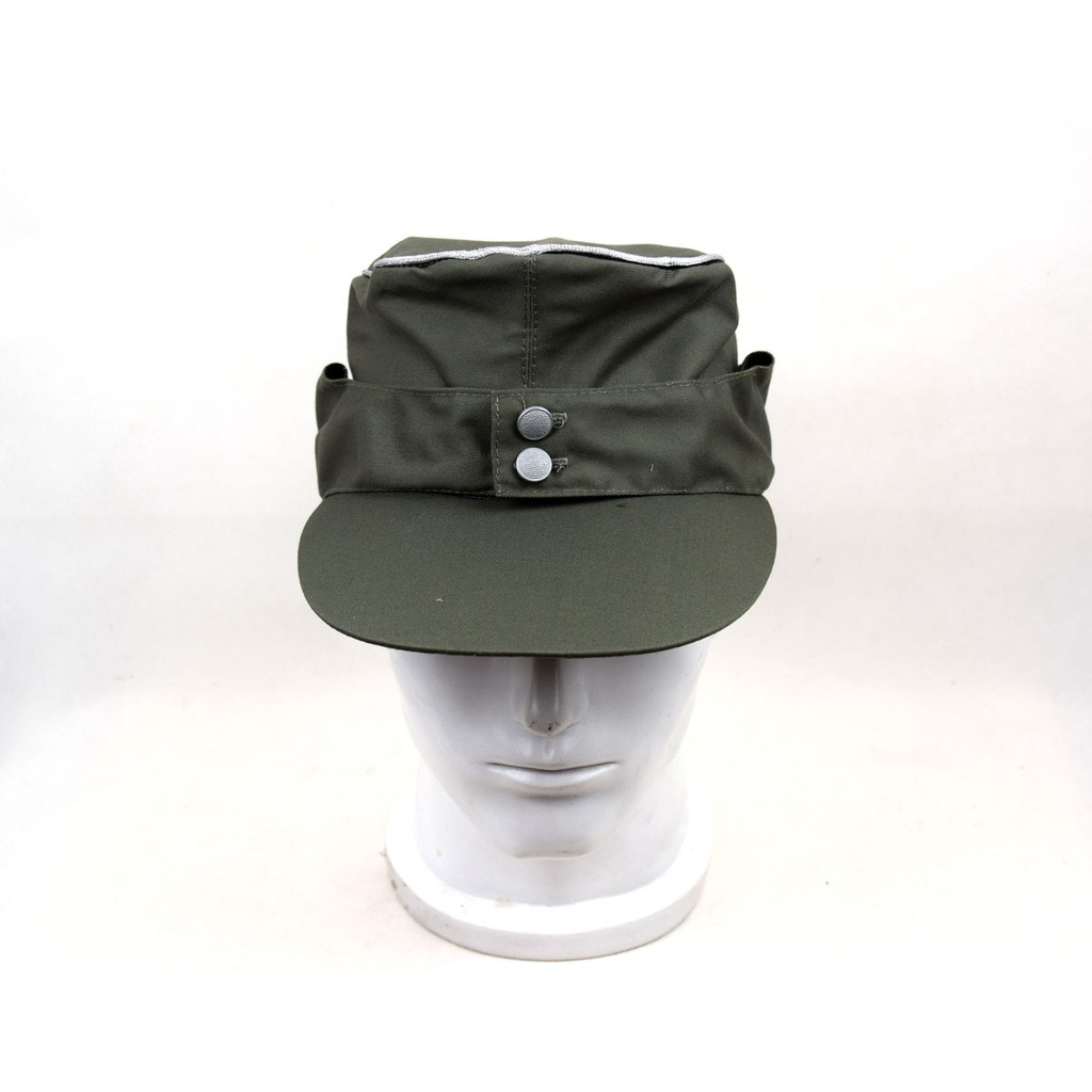 4e3f6076543618 ProductImage. ProductImage. WWII German Army Elite EM M43 Officer Summer  Panzer Field Cap Green