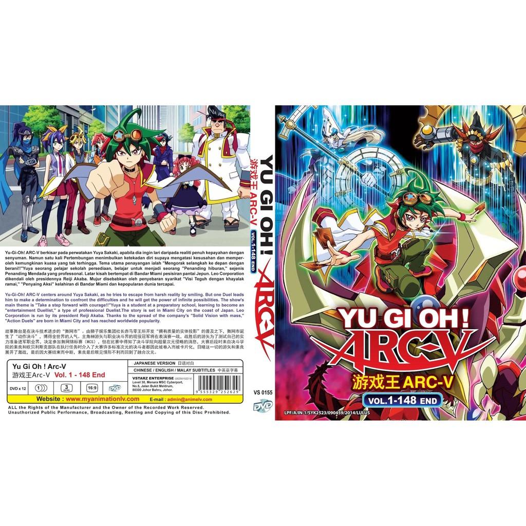 ANIME DVD ~ Yu-Gi-Oh ! Arc-V(1-148End)