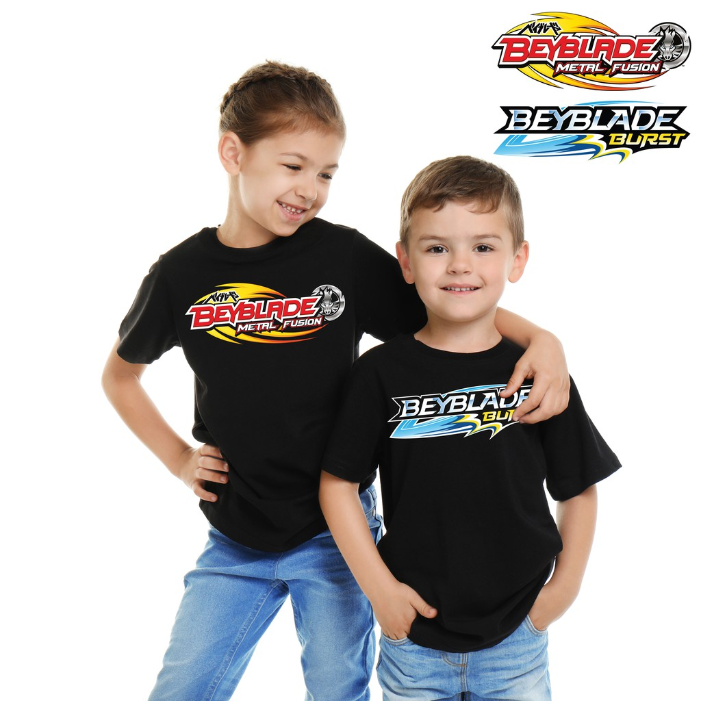 Beyblade Burst Super Z Kids T-Shirt Final Battle T-shirt for Girls and Boys