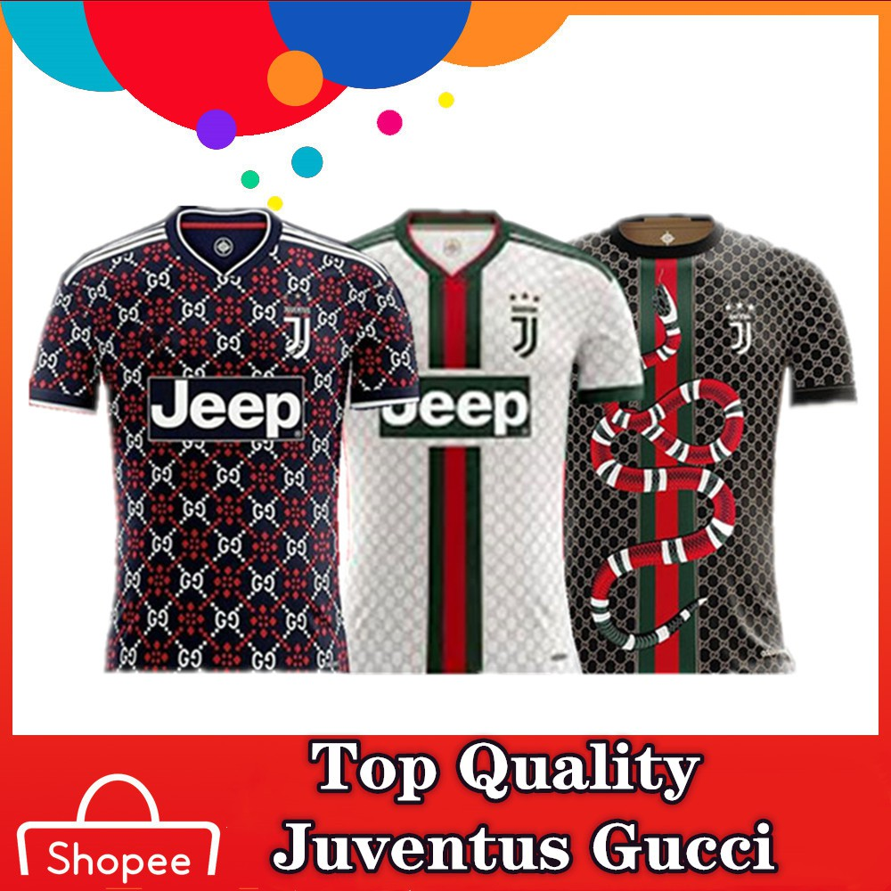 b7544618230 Top Quality 19 20 Juventus Gucci version Football Jersey