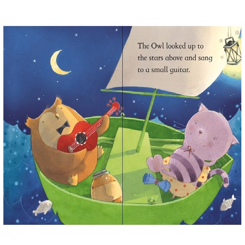 The Owl And The Pussycat - First Reading Level 4 , ISBN : 9780746096680