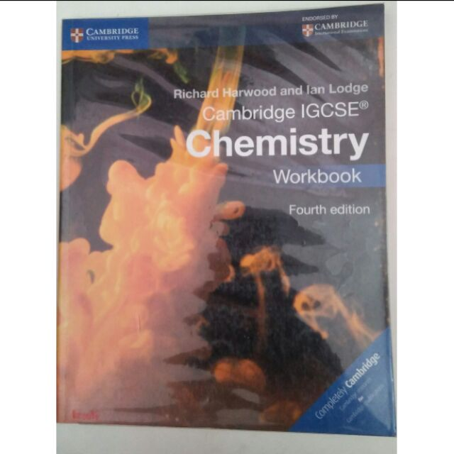 Cambridge Igcse Chemistry Course Book Fourth Edition