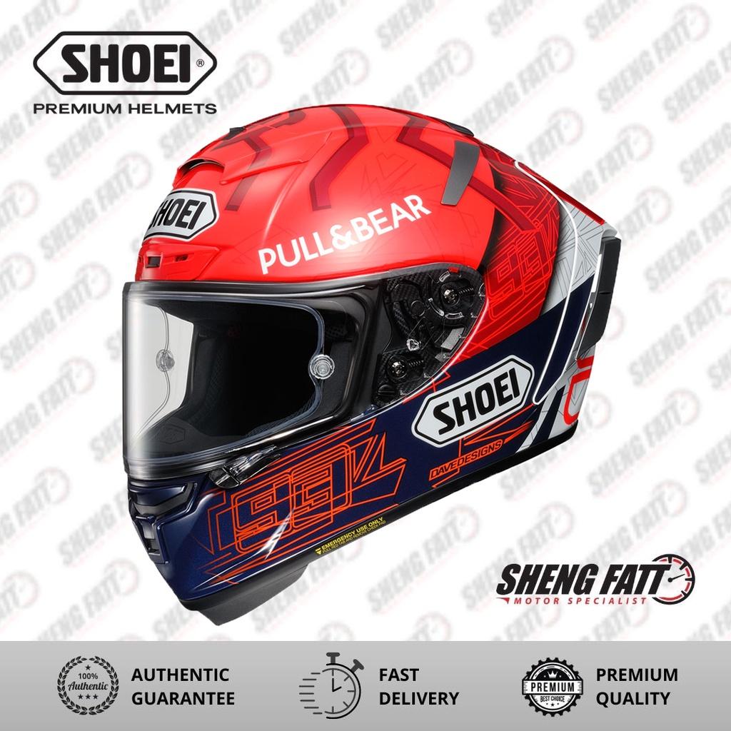 Shoei XPIRIT Marquez 6 Full Face Helmet for Motorcycle Superbike M Size