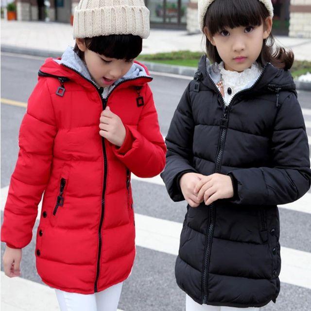 4d0f2ddc1 Kid Winter Coat Boy   Girl Warm Hoodie Jacket