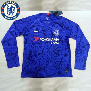 new product 24b7a 43110 Chelsea team home 19-20 FC club Soccer Jersey Long sleeve ...