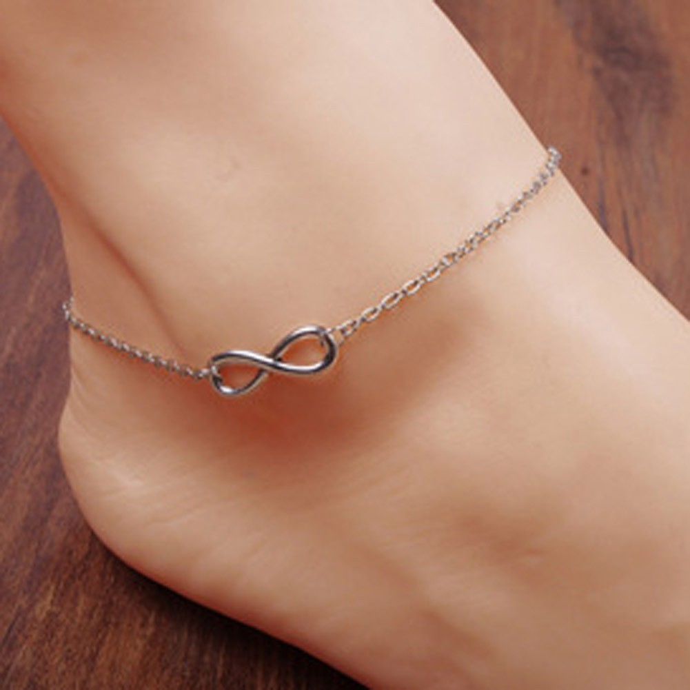 Barefoot Bracelet Black Rope 12 Constellations Foot Jewelry Foot Chain Anklet