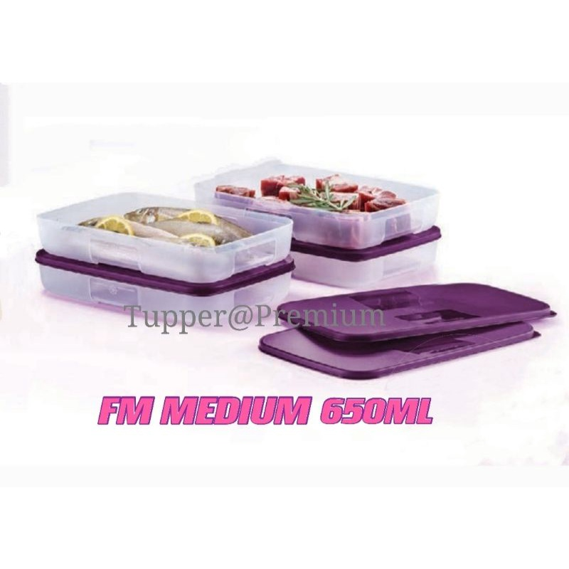 (READY STOCK)Tupperware ( 2pcs or 4pcs ) 550ml Freezermate Medium I