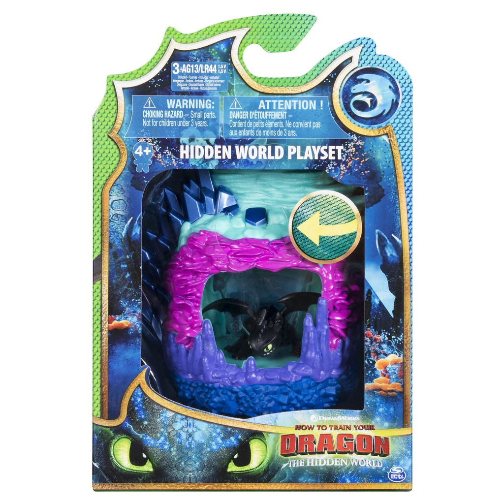 HTTYD 3 Dragon Lair - Toothless