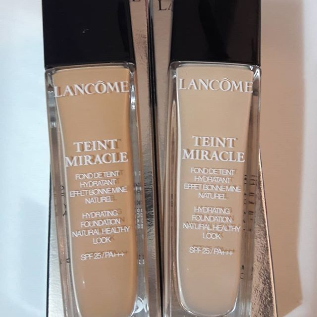 Lancome foundation teint miracle