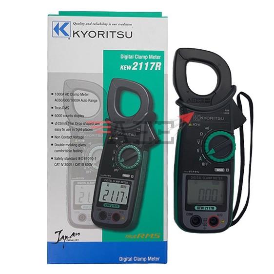 Kyoritsu KEW 2117R AC Digital Clamp Meter