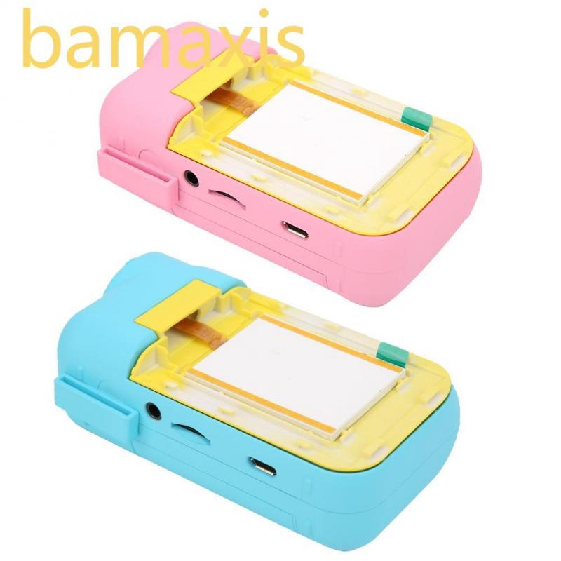 Bamaxis Mini Portable Cute Kids DV Camcorder Children Camera Educational Puzzle Toy without Battery