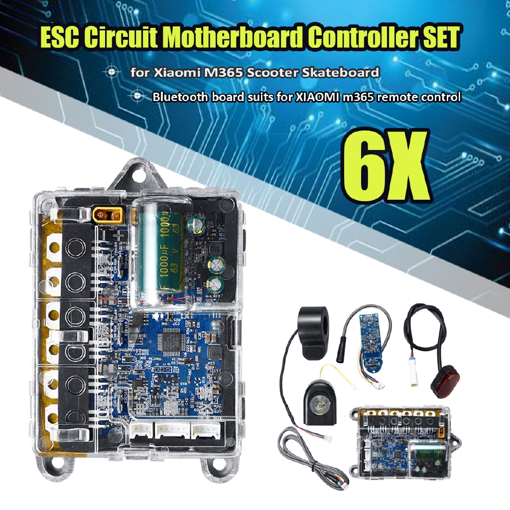Circuit Motherboard+bluetooth Controller Set for Xiaomi M365 Scooter  Skateboard