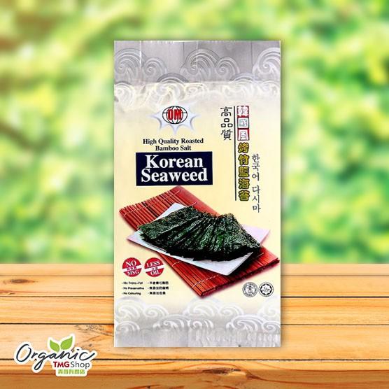 Om Korean Seaweed 8g (韩国烤竹盐海苔)