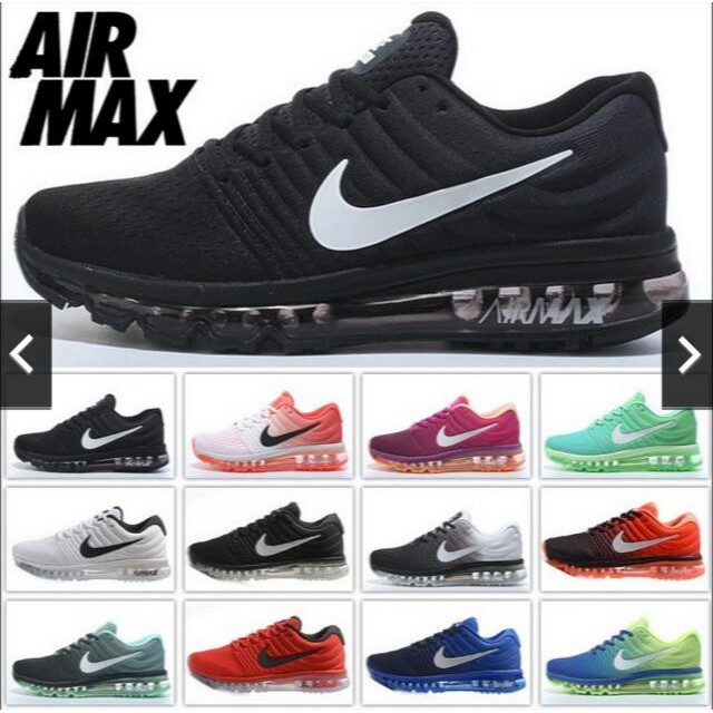 Nike Max Menwomen Size Air Running 36 Shoes 47 Sneakers 2017 LqSzpMGVU