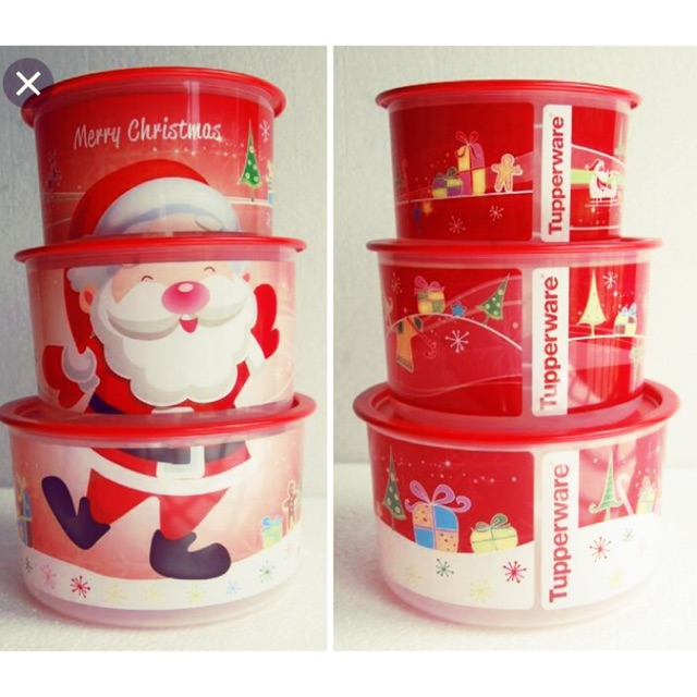 Tupperware One Touch Christmas