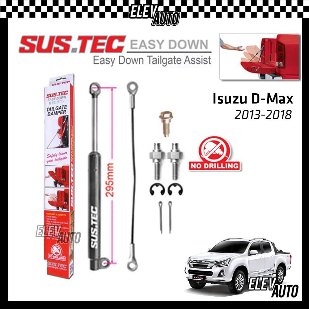 Isuzu D-Max DMax 2013-2018 SUSTEC Easy Down Tailgate Assist