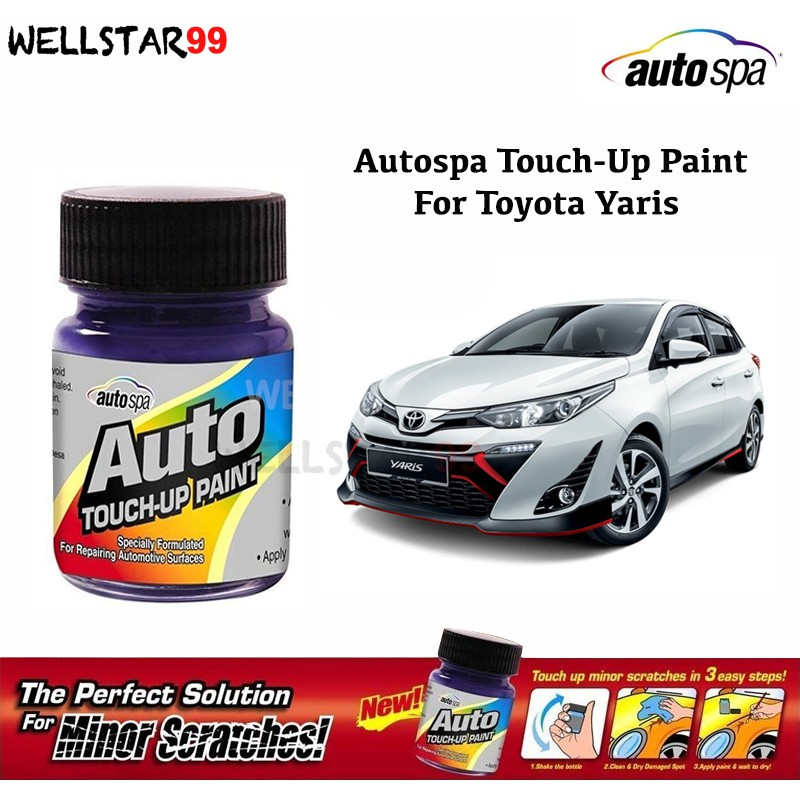Autospa Touch Up Paint For Toyota Yaris 2019 Paint Only 18ml