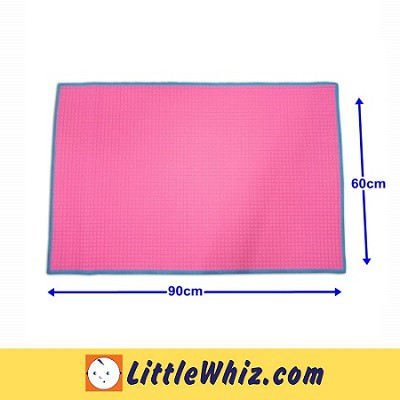 Otomo: Air Filled Rubber Cot Sheet (90x60cm)