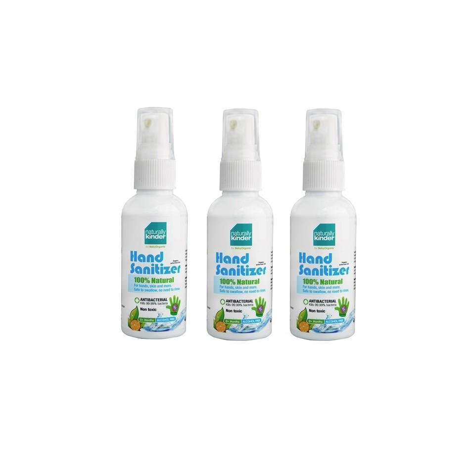 Baby Organix Naturally Kinder Hand Sanitizer (60ml x 2 Bottles) | Shopee Malaysia