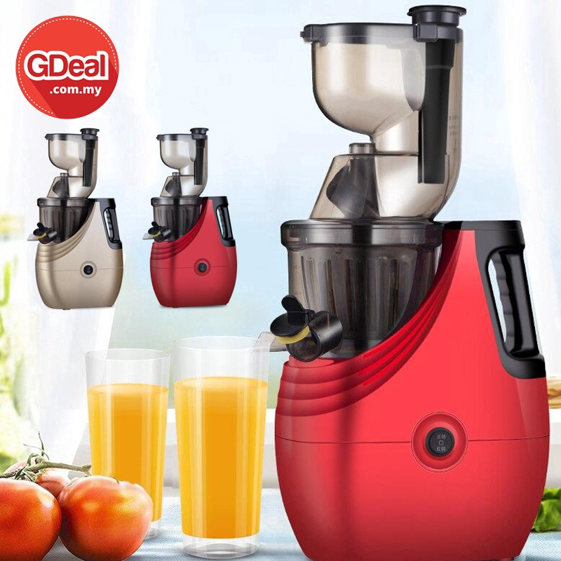 GDeal Multi Functional Kitchen Household Juicer Low Speed Juice Machine Fruit And Vegetables Extractor