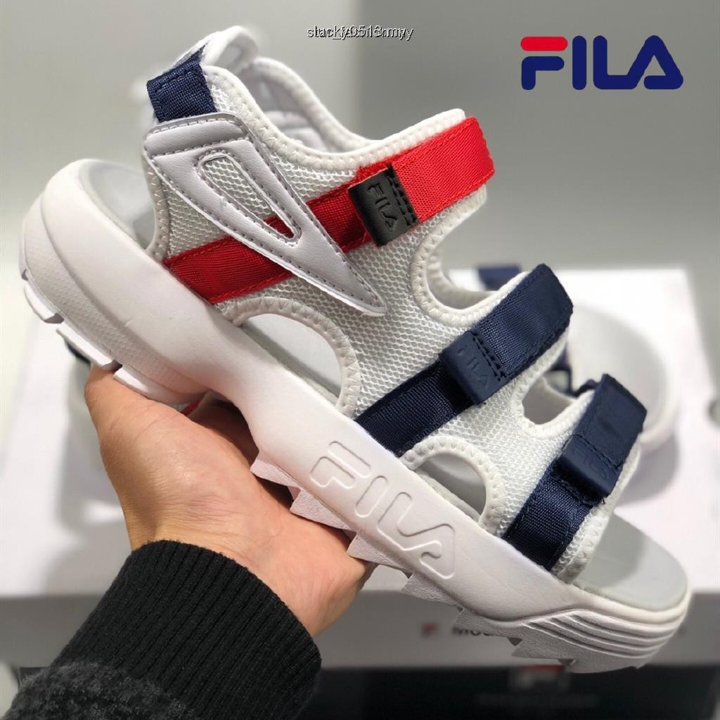 2019 original Fila Disruptor Sd Men's Sandals Slippers NB Shoes Fashion 4colours