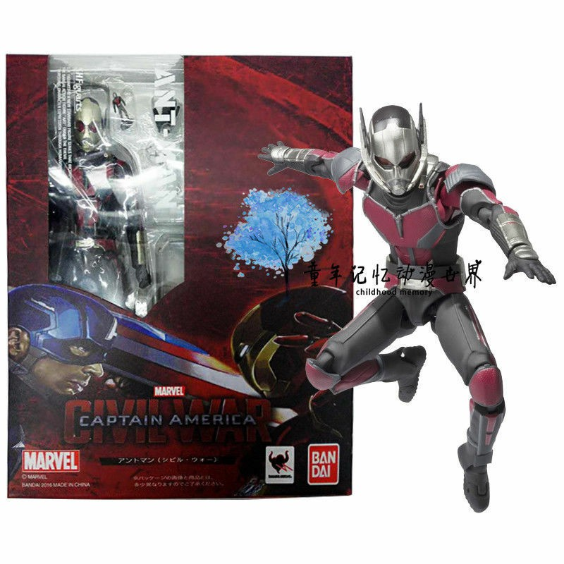 Figuarts SHF Captain America Civil War Ant-Man Action Figure China Ver. S.H
