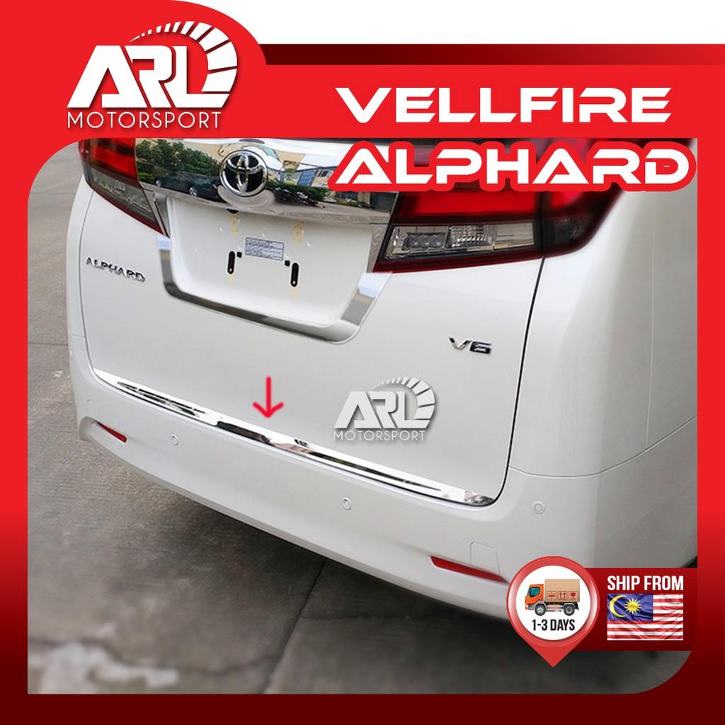 Toyota Alphard / Vellfire (2015-2020) AH30 AGH30 Rear Bonnet Lining Chrome Car Auto Acccessories ARL Motorsport