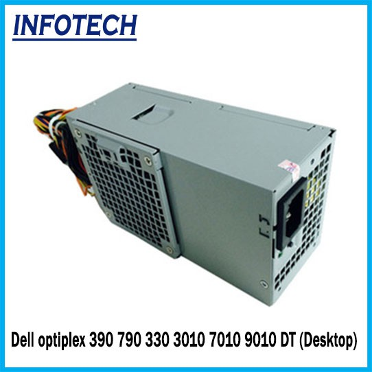 Dell Optiplex 390 790 330 3010 7010 9010 DT Power Supply Psu 250W Desktop