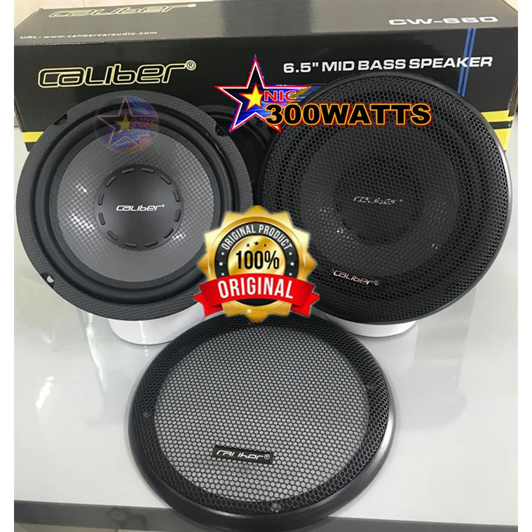 CW-660 BASS MID CALIBER 300-WATTS