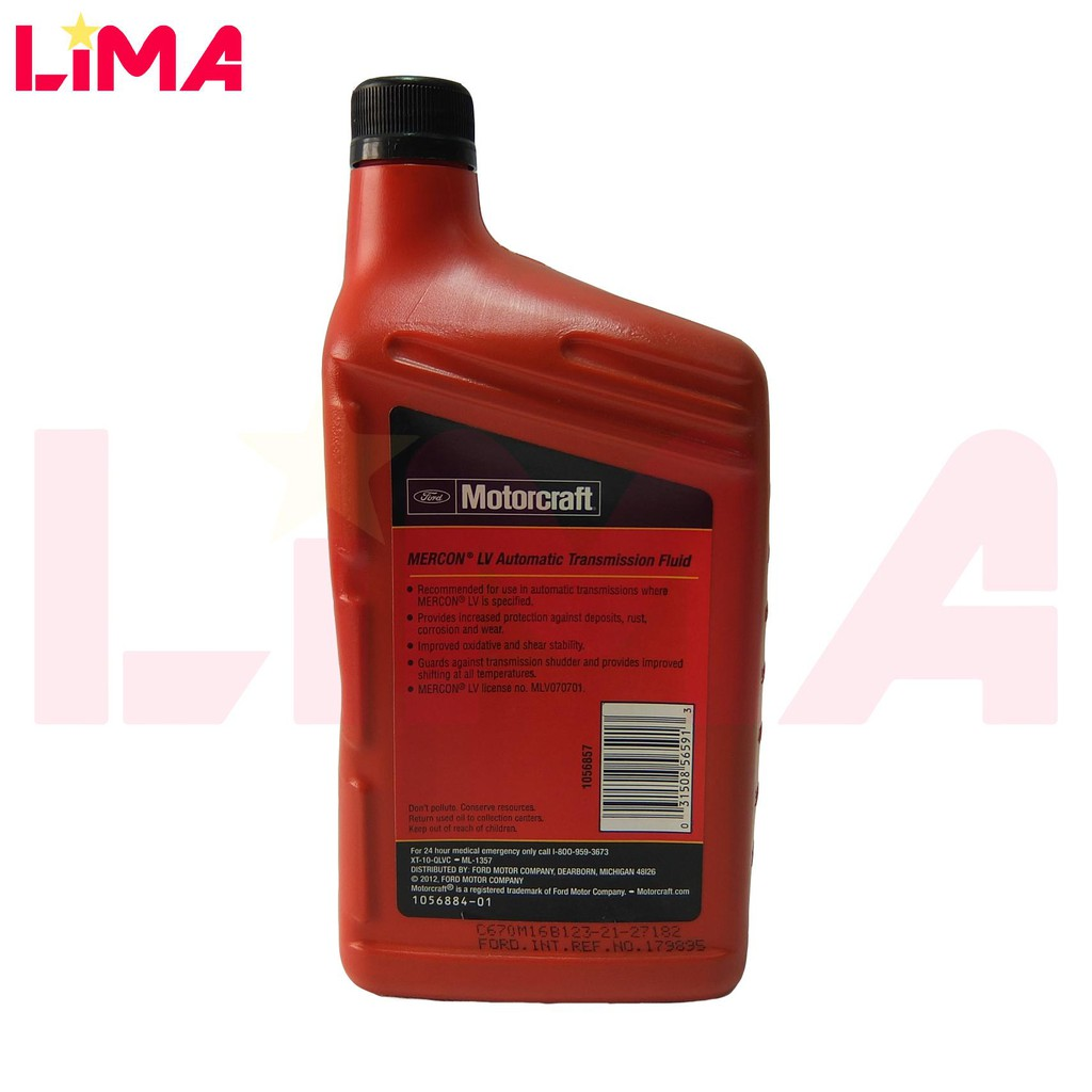FORD RANGER T6 AUTO OIL LV TRANSMISSION FLUID 1L *ORIGINAL*