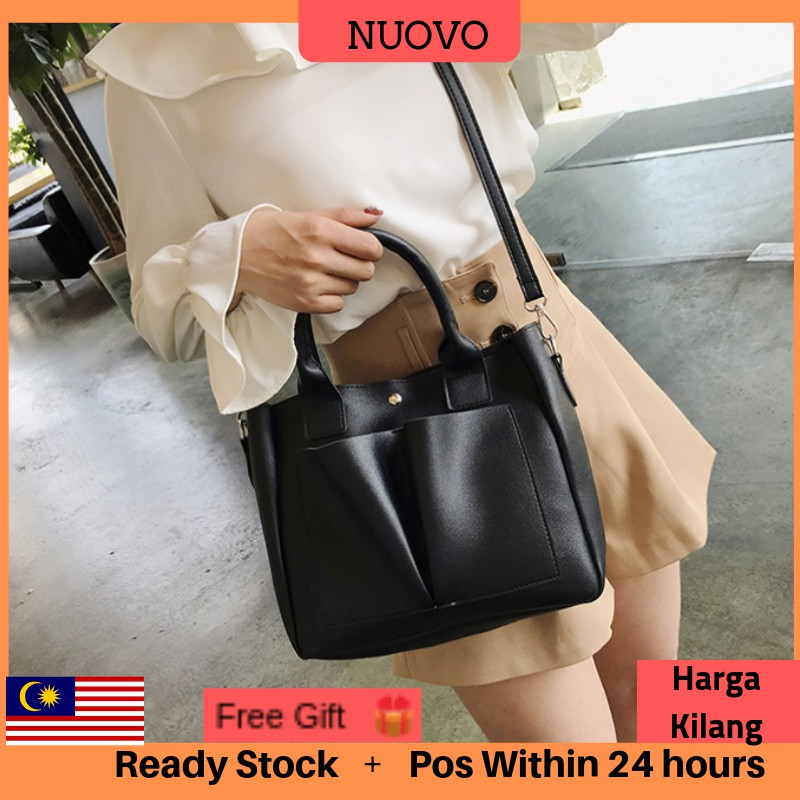 ALLREADY STOCK NUOVO Elegant handbag Office bag beg tangan Sling bag