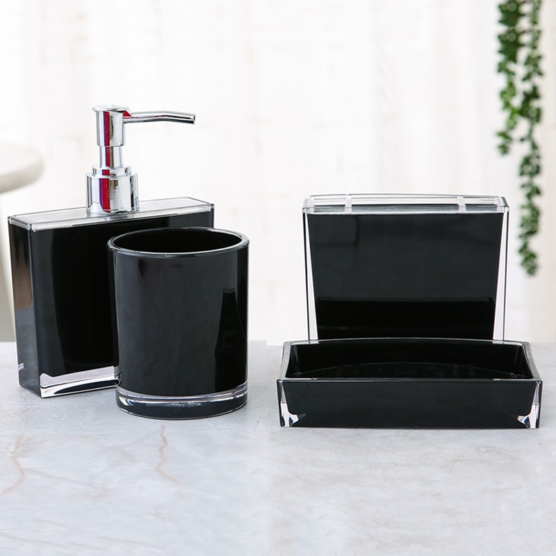 1xSoap Dish Round Glass Storage Box Clear Holder Accessories For Shower Bathroom