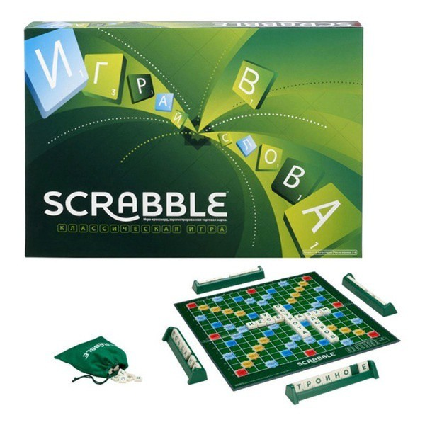 Mattel Original Scrabble Y9592 Boardgames (100% Original)