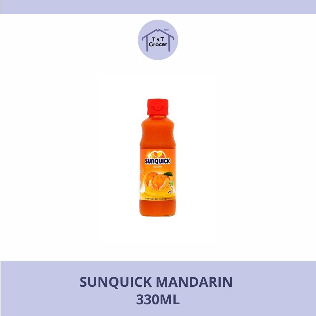 SUNQUICK 330ml (Mandarin/ Mango/ Oren/ Tropika)