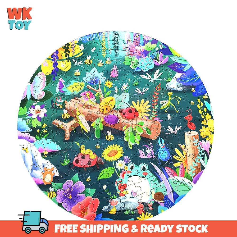 WKTOY 150pcs Puzzle For Kids Early Learning Toys Animal Sea Polar Puzzle Mainan Puzzle