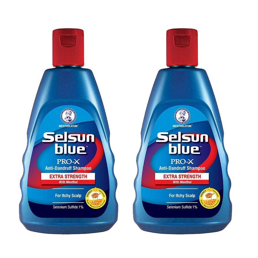Selsun Blue Anti Dandruff Shampoo Extra Strength 2x200ML