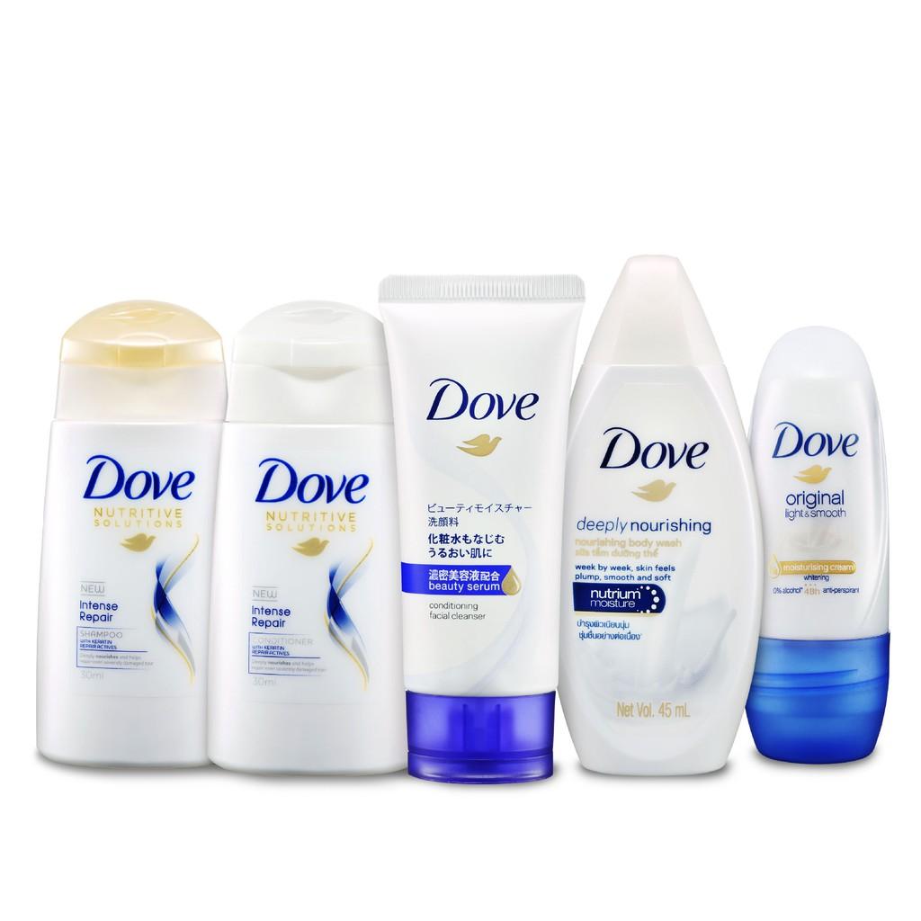 Dove Travel Set 5 S 30ml 45ml Shopee Malaysia