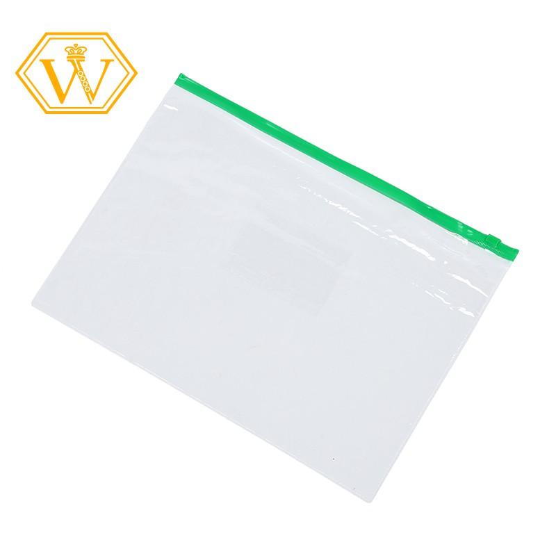 A4 Portfolio Artist Art Waterproof Folder  Clear Carry Case Plastic
