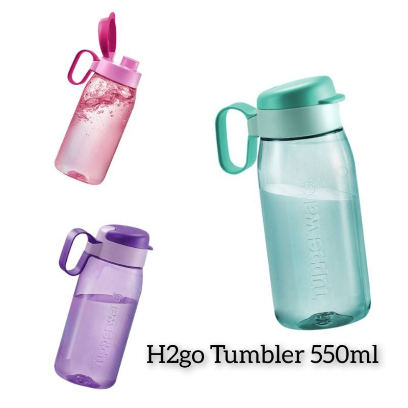 Tupperware H2GO Tumbler 550ml OR 750ml