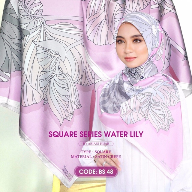 21fb2a1e6c8633 (Ready stock) Square Series water lily | Shopee Malaysia