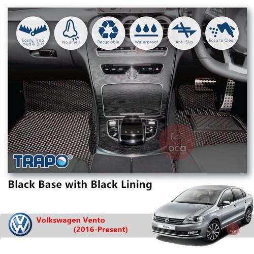TRAPO Customize Car Floor Mat for Volkswagen Vento (2016-Present)