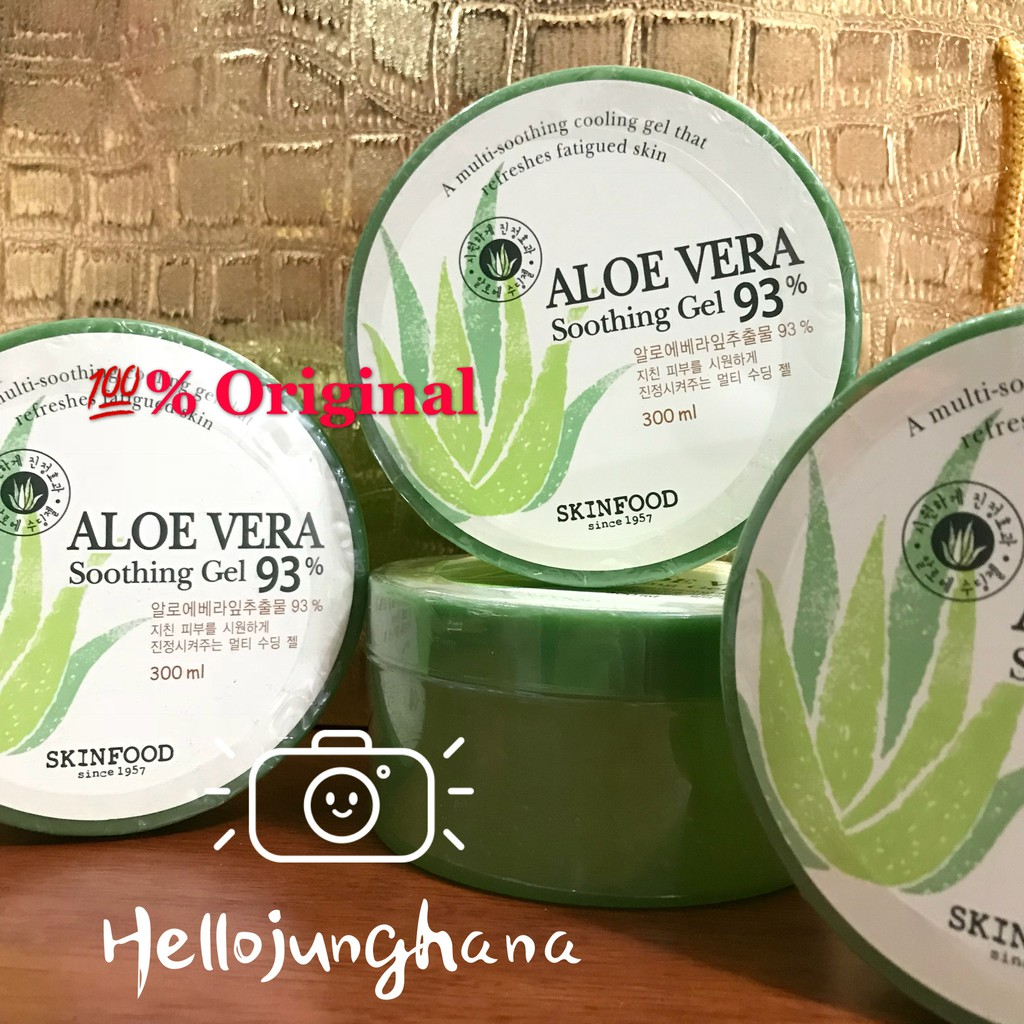 Innisfree Aloe Revital Soothing Gel 300ml Shopee Malaysia Vera