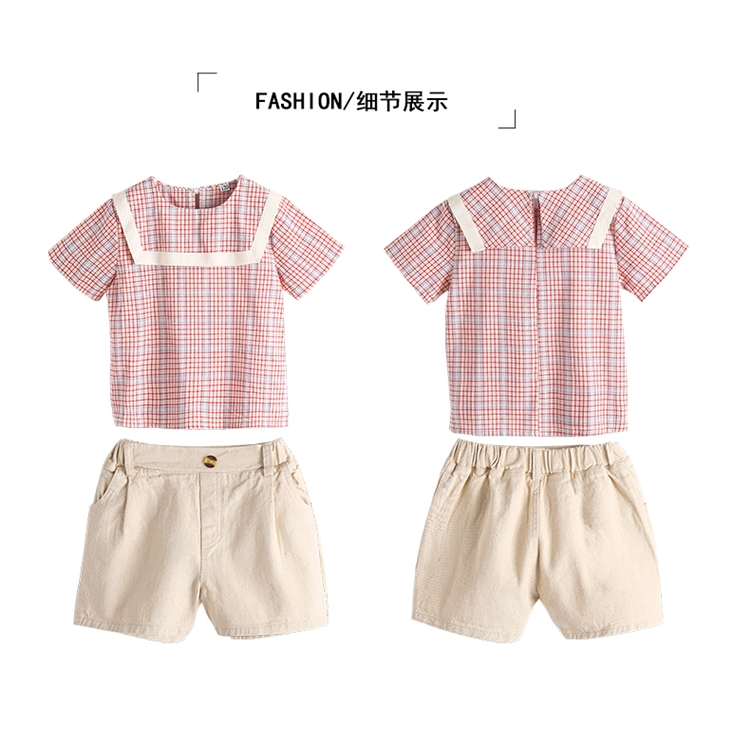 474ed6705ac36 Boy Clothing Suit Infant Baby Boy Cotton Clothes Sets Summer Baby ...