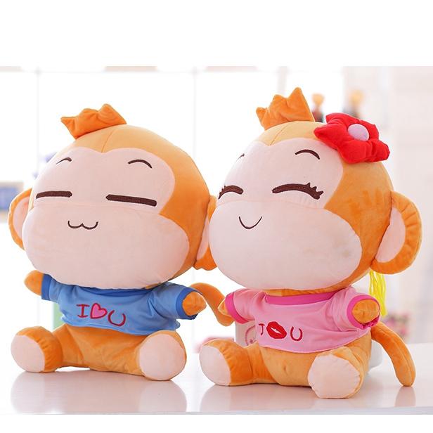 YoYoCiCi Soft Toy 40CM BOY Stuffed Plush Soft Toy Teddy Doll Toys Cushion Pillow